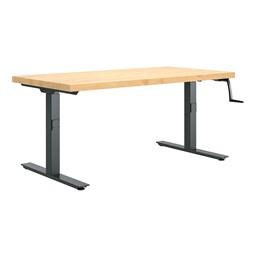 "Hi-Lo Bench (30"" W x 60"" L) - Solid Maple"