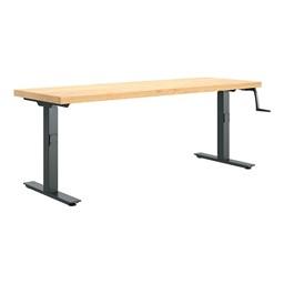"Hi-Lo Bench (24"" W x 72"" L) - Solid Maple"