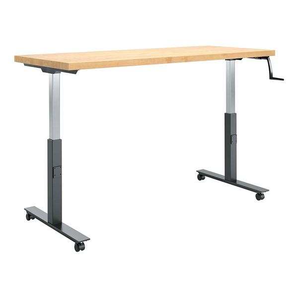 "Hi-Lo Bench (30"" W x 72"" L) - Solid Maple"
