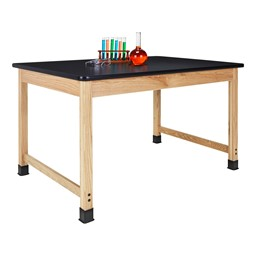 Science Lab Table w/ Epoxy Resin Top