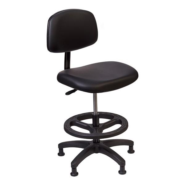 Lab Compliant Tech Chair - black