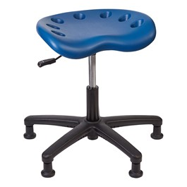 Lab Compliant Tractor Stool - blue