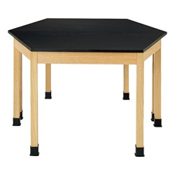 Trapezoid Science Lab Table