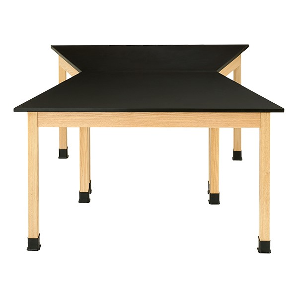 Science Lab Table - Trapezoid