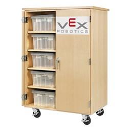 Robotics Tote Mobile Storage Cabinet