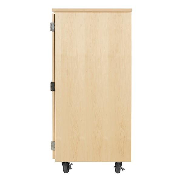 "Robotics Tote Mobile Storage Cabinet  (36"" W x 24"" D x 53"" H) - Side"