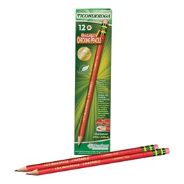 Ticonderoga Erasable Checking Pencils - 12 Count