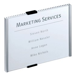 """Info Series Interior Wall Sign (8 1/2"""" W x 6 1/8"""" H)"""
