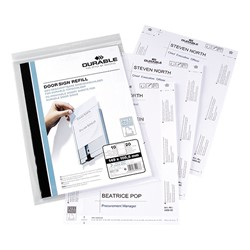 Info Series Sign Refill Sheets - Pack of 10