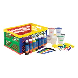 Learn Your Colors Paint Crate