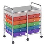 Mobile Organizer w/ 12 Drawers - Assorted