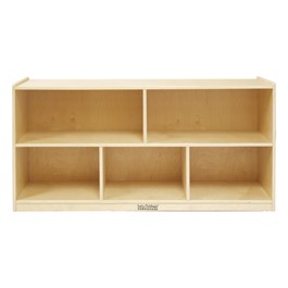 Ecr4kids storage cabinet five compartments 24 h at for Cheap book storage