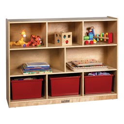 Storage Cabinet - Eight Compartments