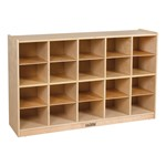 20-Tray Cubby Unit w/o Trays