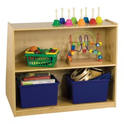 Book Display Storage Unit - Back