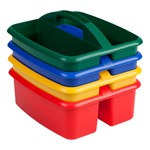 Art Caddy w/ Two Compartments - Set of 4 - Large