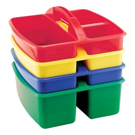 Art Caddy w/ Three Compartments - Set of 4 - Small