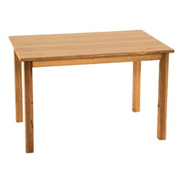 Deluxe Hardwood Rectangular Table