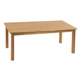 Deluxe Hardwood Rectangular Table