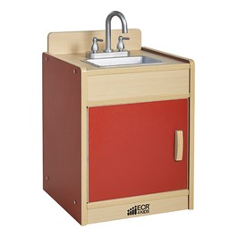 Colorful Essentials Play Kitchen - Sink - Red