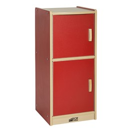 Colorful Essentials Play Kitchen - Refrigerator - Red