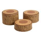 SoftZone® Tree Stump Stool Set - Three Piece