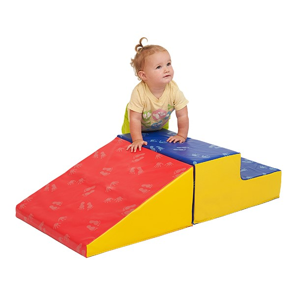 SoftZone Little Me Climb & Slide - Small - Primary