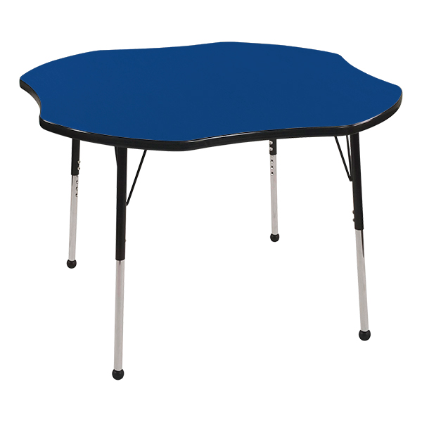 Clover Color Top Adjustable-Height Preschool Activity Table