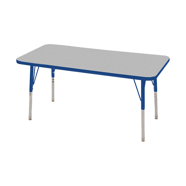 Delicieux Rectangle Adjustable Height Activity Table