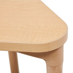 Square All-Purpose Play and Work Activity Table - Edge