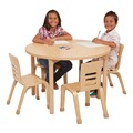 Round All-Purpose Play and Work Activity Table