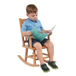 Classic Oak Rocking Chair - Child
