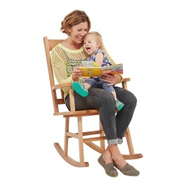 Classic Oak Rocking Chair - Adult