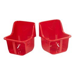 Toddler Seats (Pack of Two) - Red
