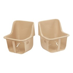 Toddler Seats (Pack of Two) - Sand