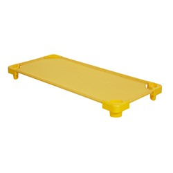 Colorful Stackable Daycare Kiddie Cot - Yellow