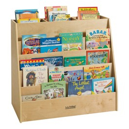 Display & Store Mobile Book Cart - Accessories not included