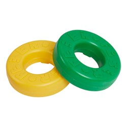 Mega Four-in-Line Game Primary Colors Replacement Rings - 20 Pieces