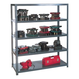Extra Heavy-Duty Steel Shelving
