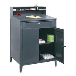 Shop Desk w/ Cabinet
