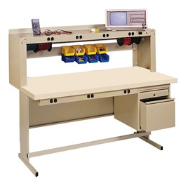 Complete Electronic Workcenter w/ Anti-Static Top