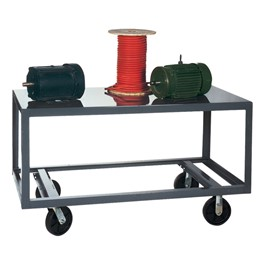 Mobile Steel Table
