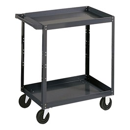 1000 lb. Capacity Steel Service Cart w/ 2 Shelves
