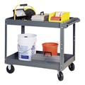 Steel Service Cart w/ Two Shelves