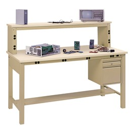 Complete Electronic Tech Bench w/ Anti-Static Top