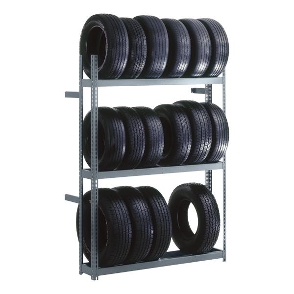 Edsal Rivet Lock Boltless Tire Rack At School Outfitters