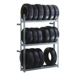 Rivet Lock Boltless Tire Rack (Single-Sided)