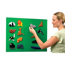Quick Stick Instant Flannel Board - Felt animals not included