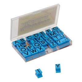 Alphabet Stamps - Uppercase