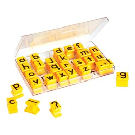Alphabet Stamps - Lowercase